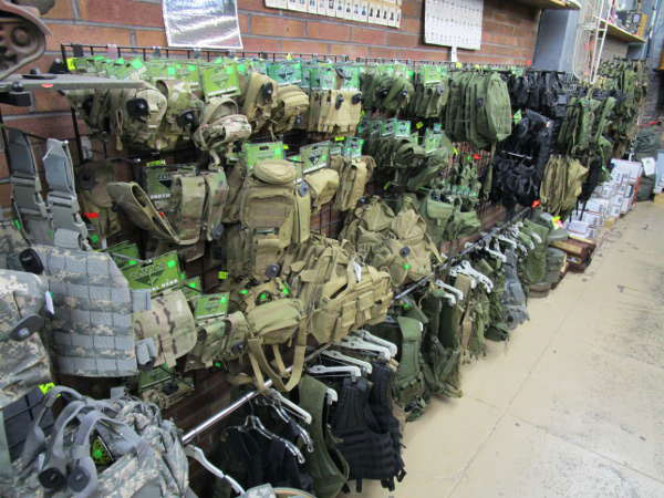 Molle Gear - Andy and Bax